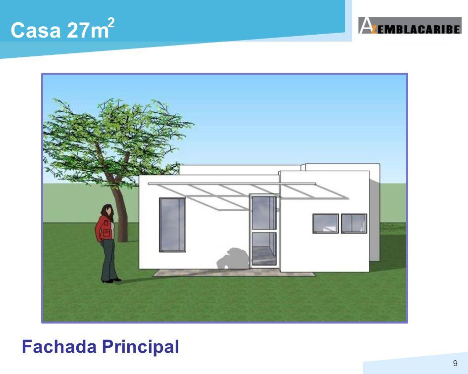 2 Casa 27m Fachada Principal