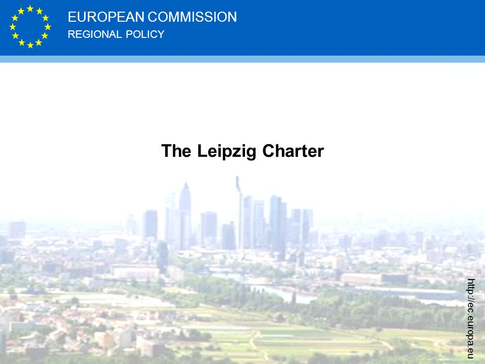 The Leipzig Charter