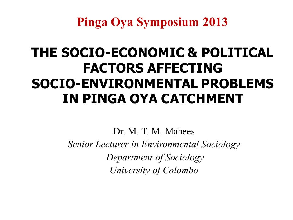 socio economic problems Analysis of the first six aprm country review reports reveals common problems in the sphere of socio-economic development, albeit to different degrees what can we learn, and do the solutions proposed hold promise.