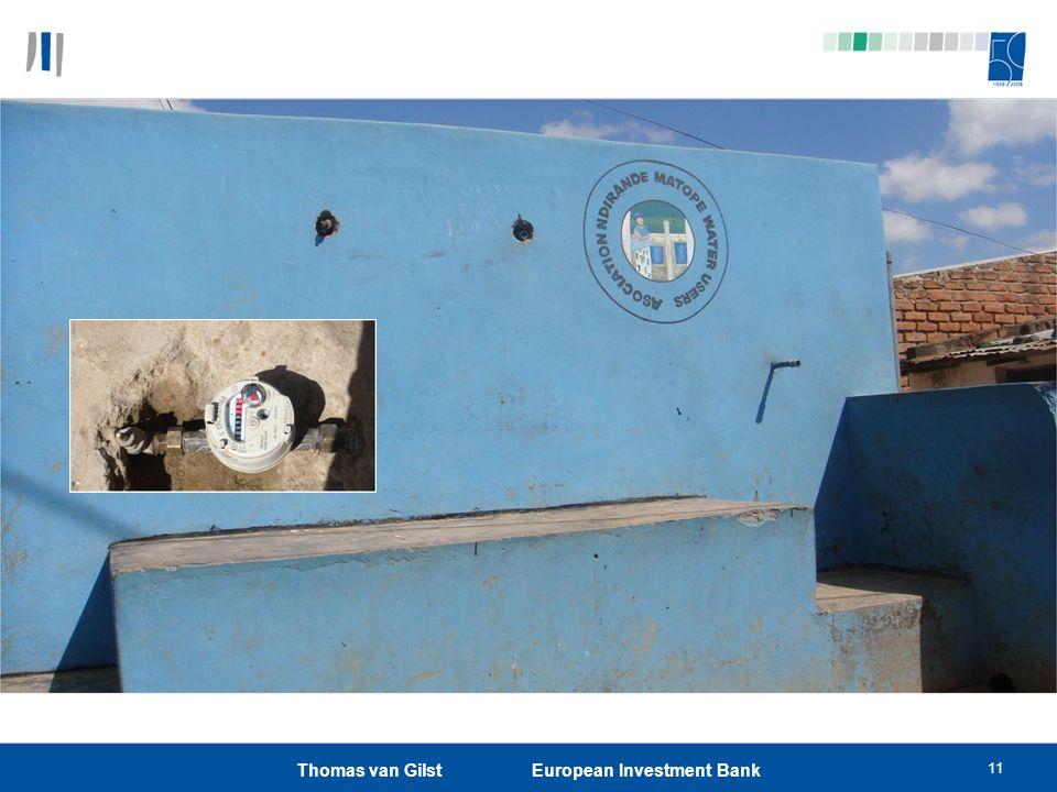 Thomas van Gilst European Investment Bank