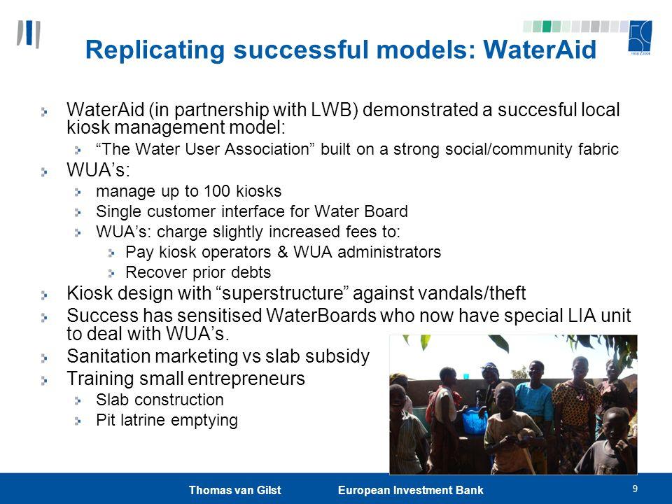Replicating successful models: WaterAid
