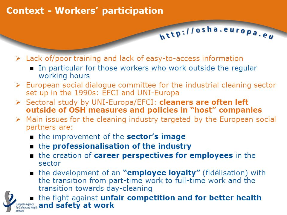 Context - Workers' participation