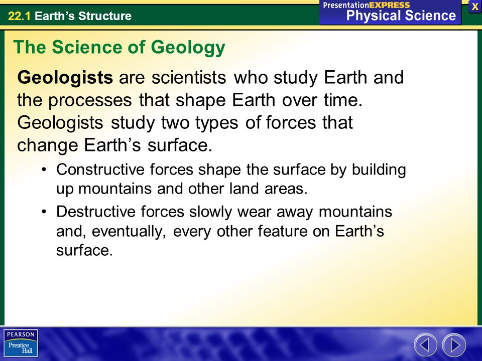 The Science of Geology