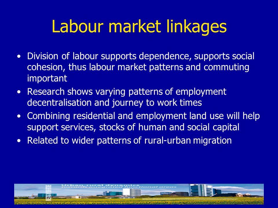 Labour market linkages