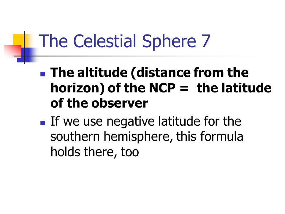 how to find the distance of an altitude