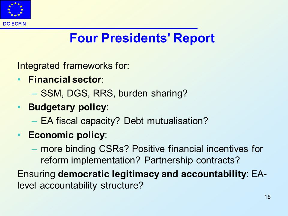 Four Presidents Report