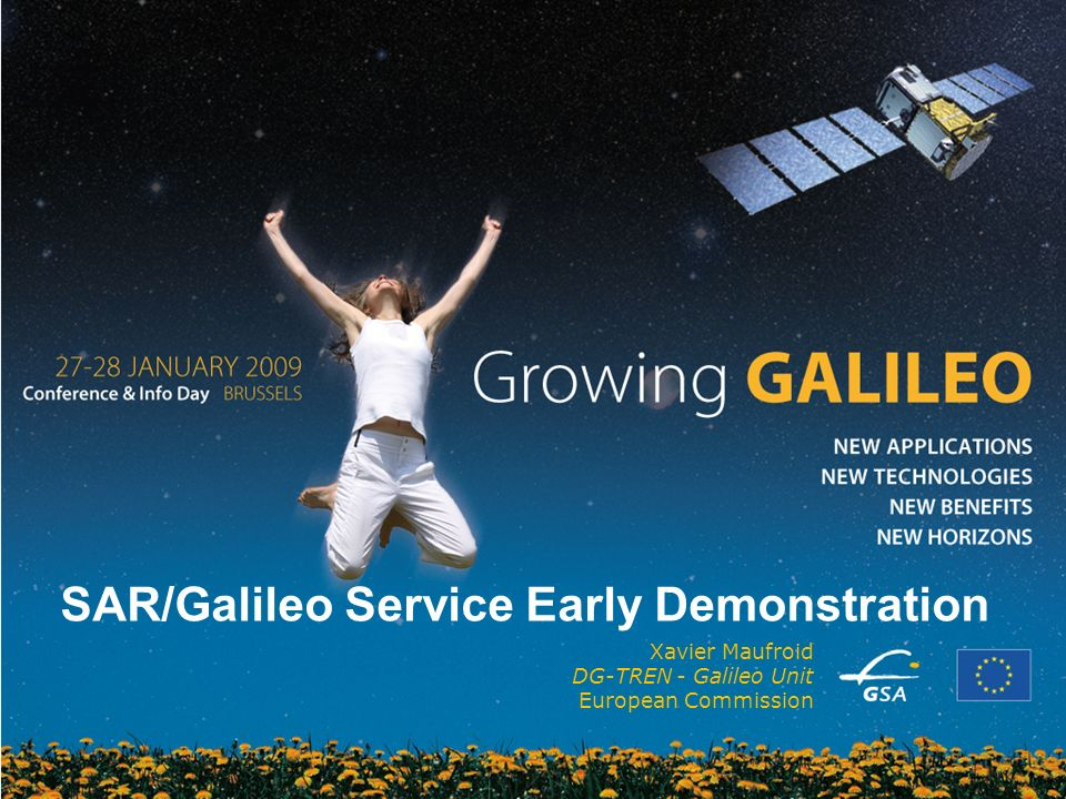 SAR/Galileo Service Early Demonstration