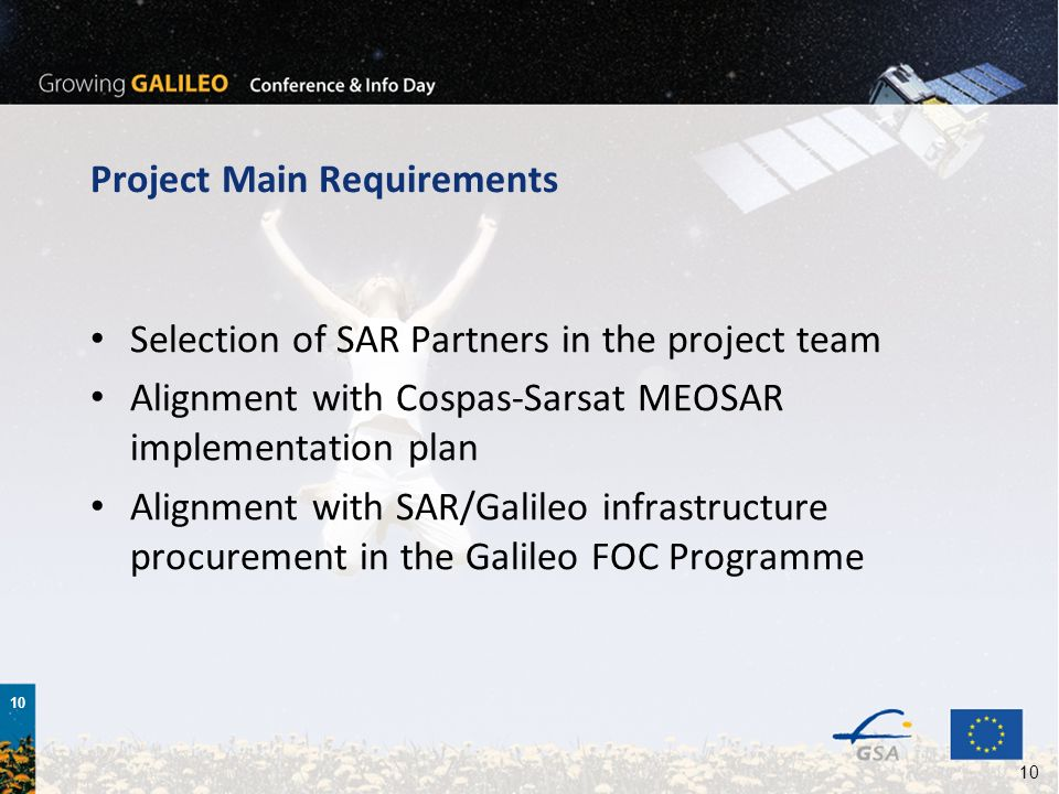 Project Main Requirements