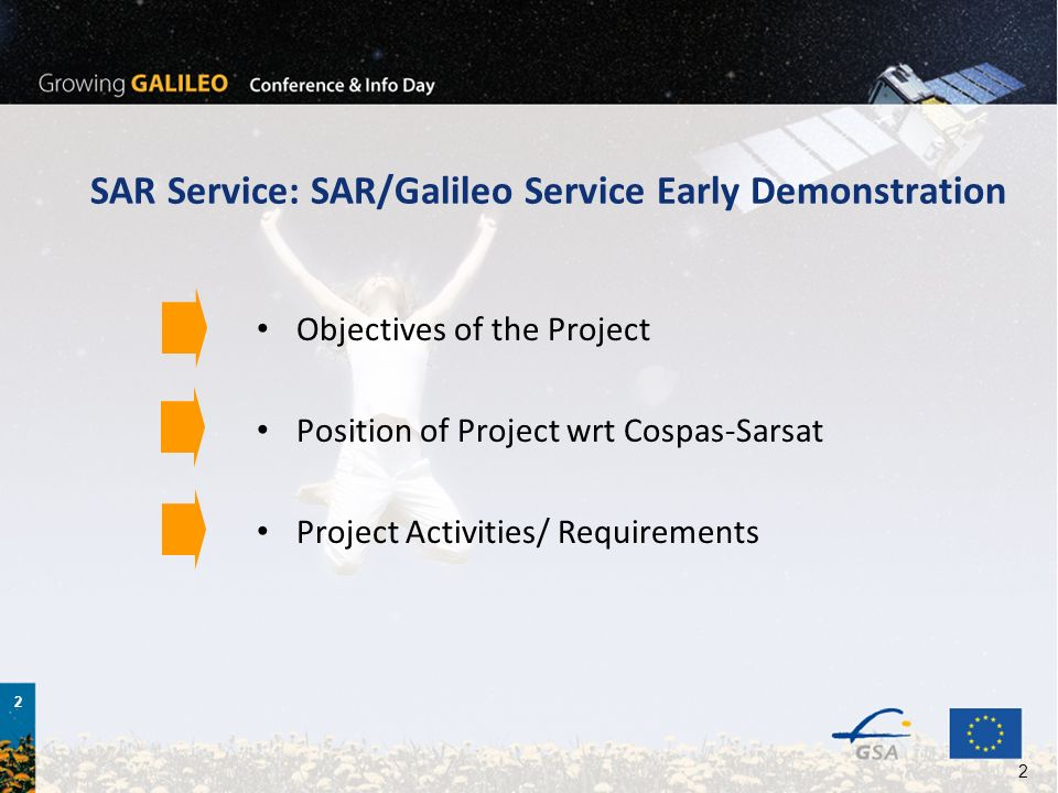 SAR Service: SAR/Galileo Service Early Demonstration