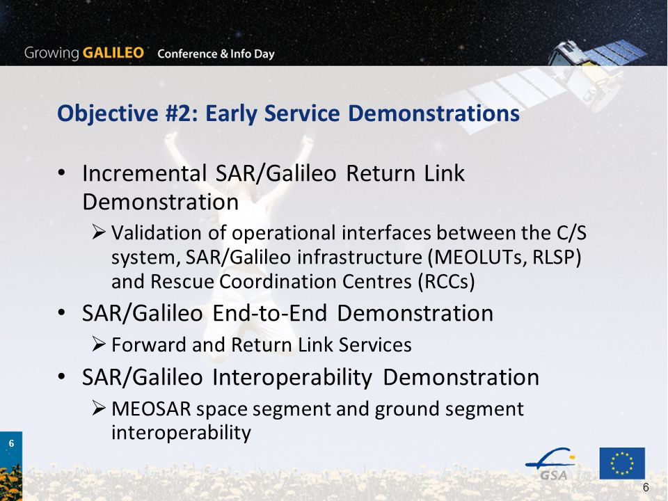 Objective #2: Early Service Demonstrations