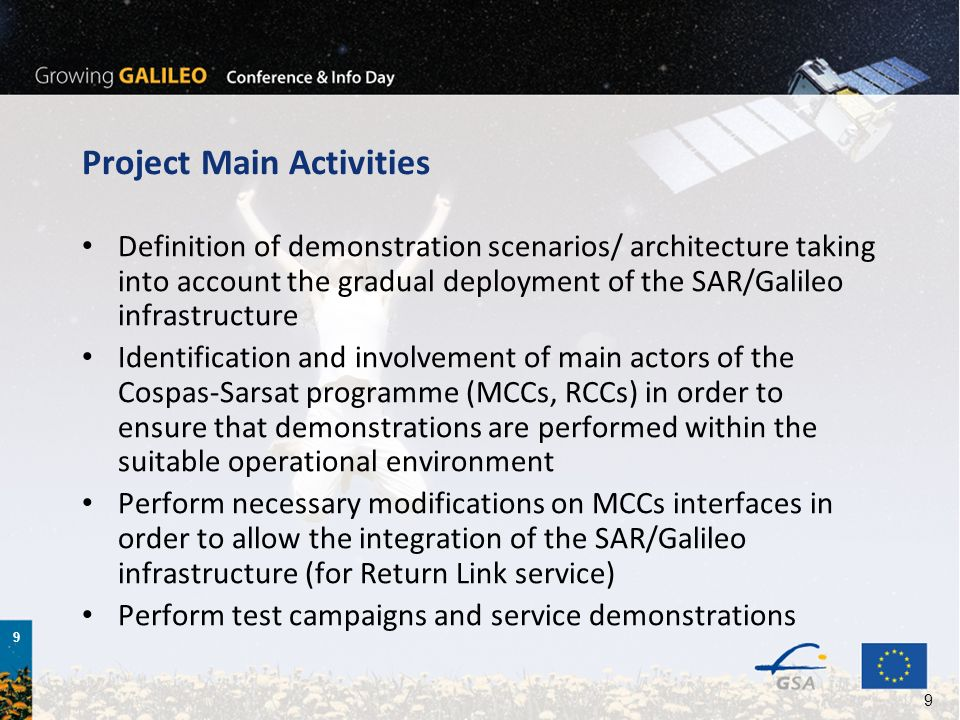 Project Main Activities