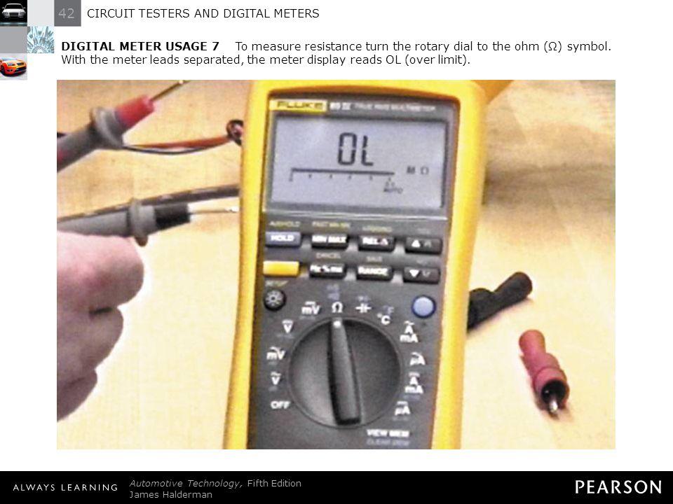 Multimeter Dial Symbols : Circuit testers and digital meters ppt download