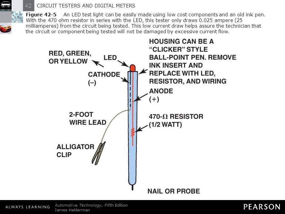 circuit testers and digital meters - ppt download 470 ohm resistor wiring diagram #8