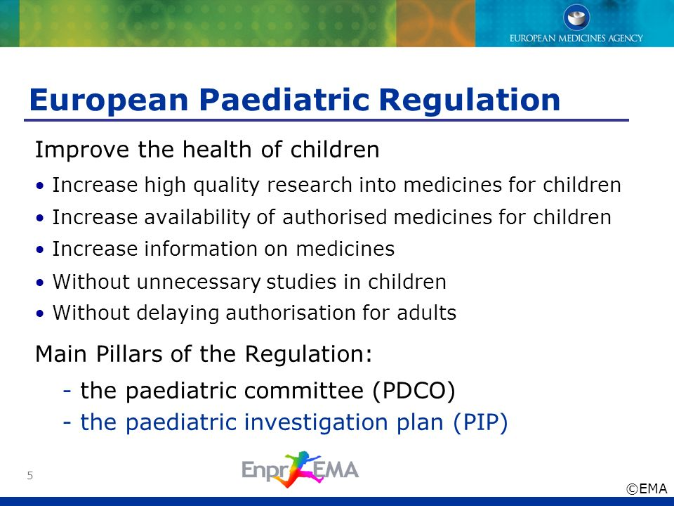 European Paediatric Regulation