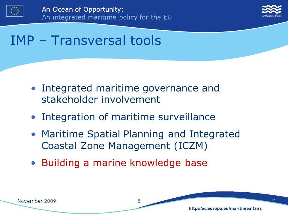 IMP – Transversal tools