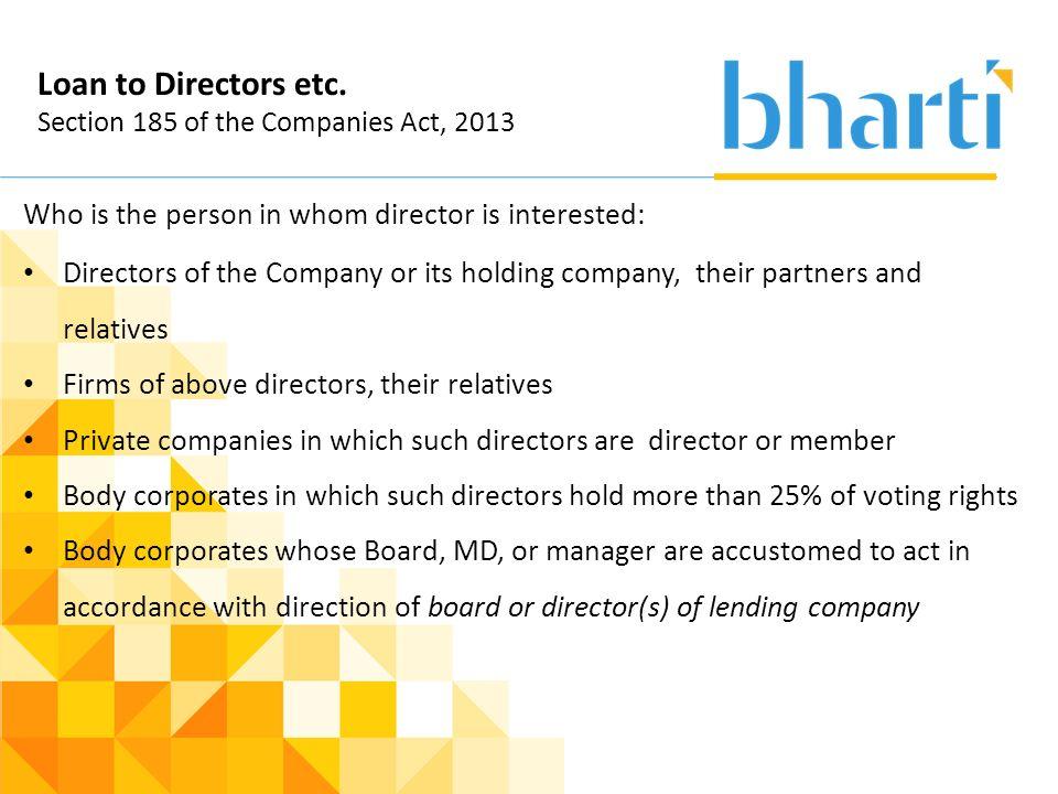 holding company act 2013