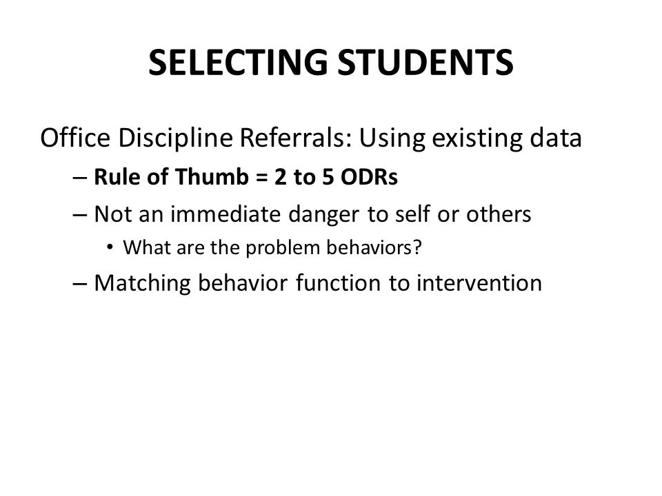 dissertation using discipline referrals It has been accepted for inclusion in open access dissertations  the research surrounding school climate and discipline referrals and practices is bolstered.