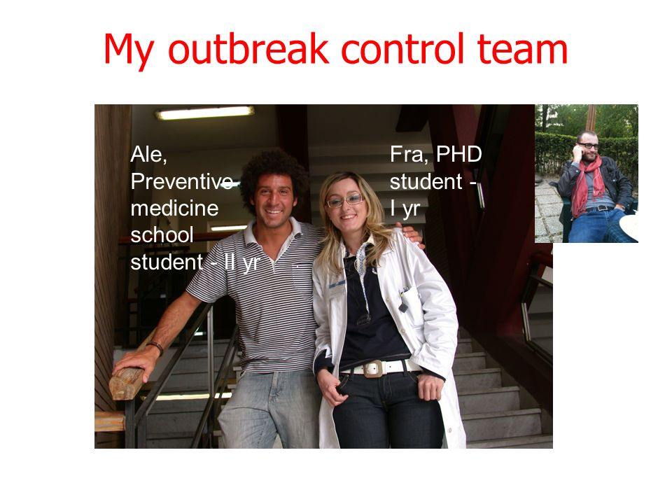 My outbreak control team
