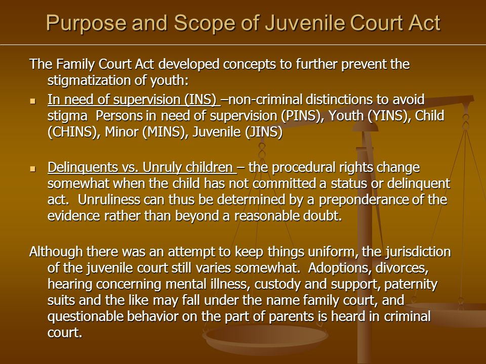 OCPD: Flow Chart of Juvenile Court Process