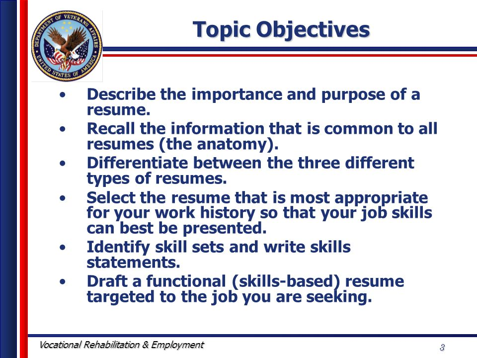 resume writing workshop ppt