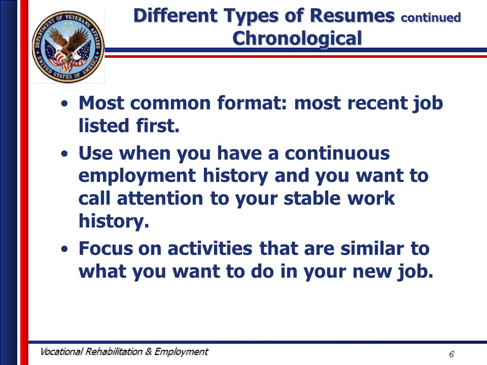 type of resume ideas resume template for