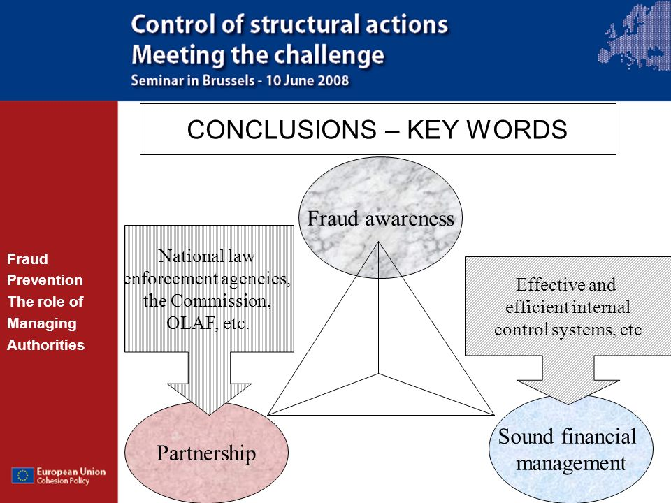 CONCLUSIONS – KEY WORDS