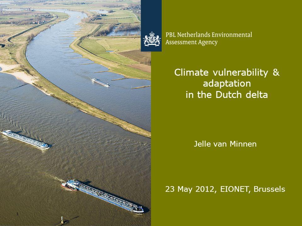 Climate vulnerability & adaptation in the Dutch delta