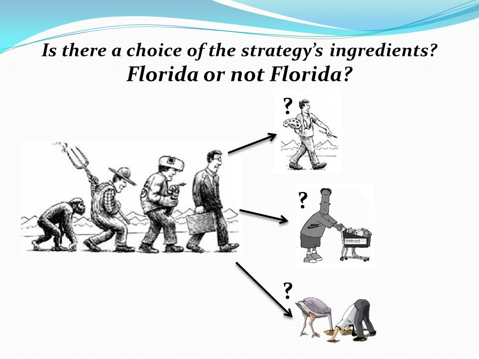 Is there a choice of the strategy's ingredients