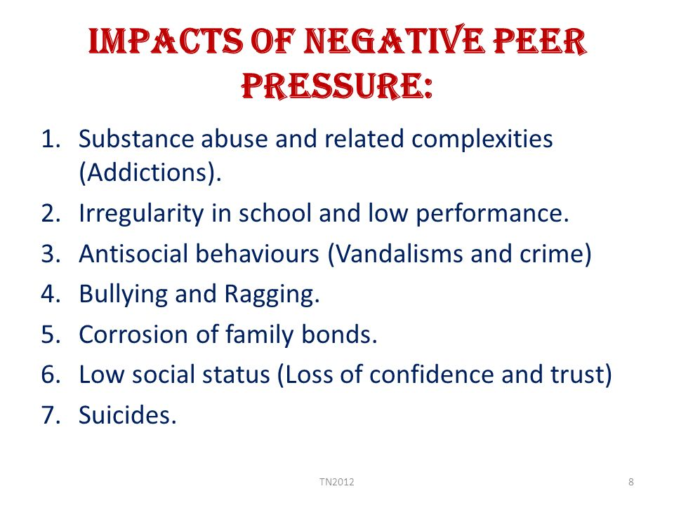 essay on negative and positive effects of peer pressure