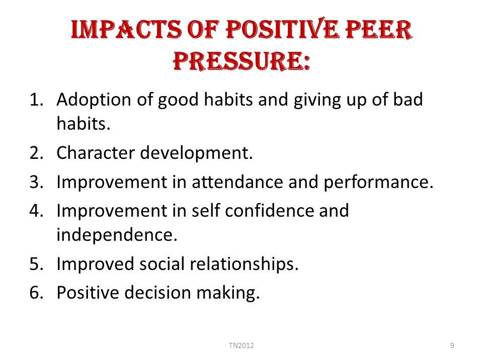 Negative And Positive Effects Of Peer Pressure  My Essay Point Peer Pressure