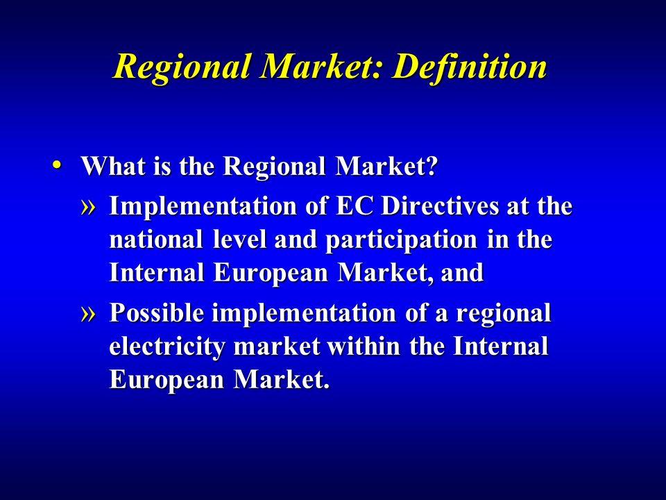 Regional Market: Definition