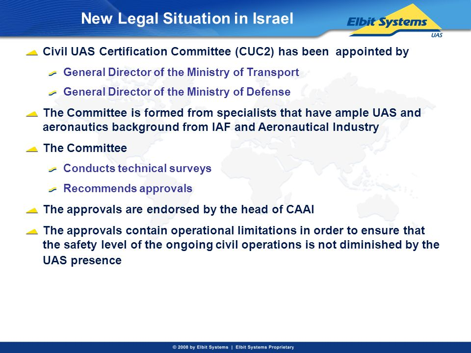 New Legal Situation in Israel
