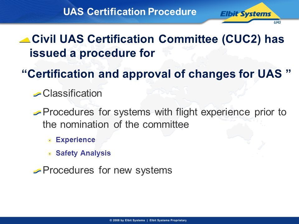 UAS Certification Procedure