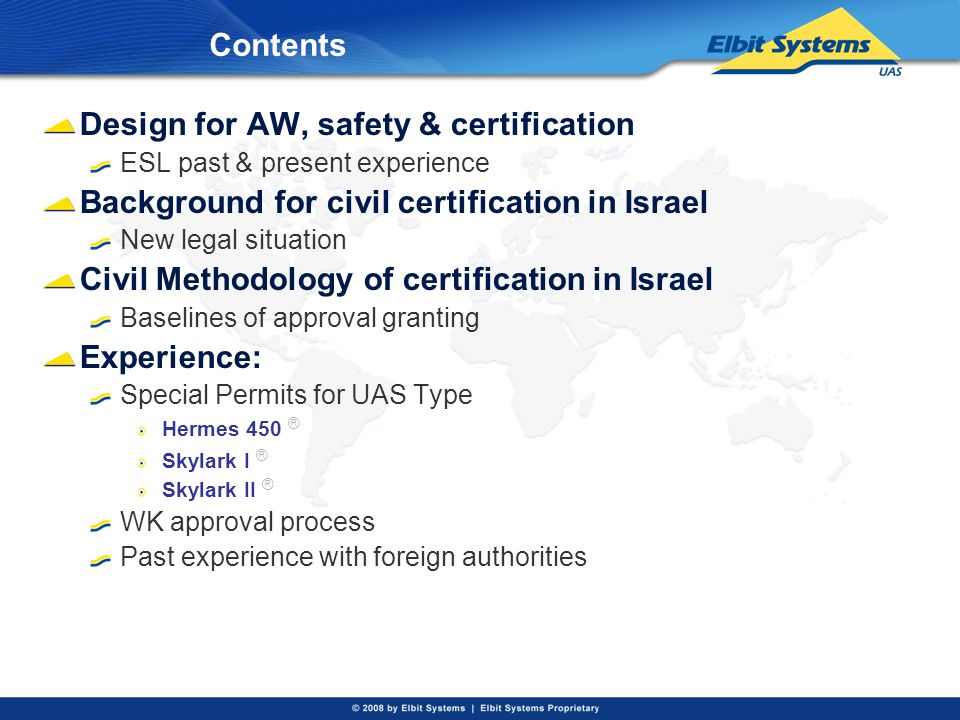 Design for AW, safety & certification