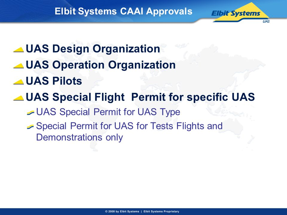 Elbit Systems CAAI Approvals