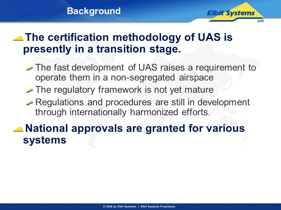 National approvals are granted for various systems