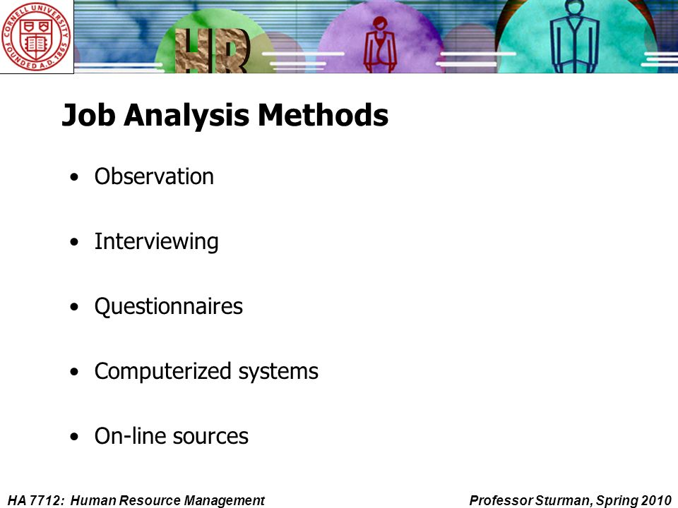 managerial work analysis from observation Izations have the potential for being such a powerful aid to management decision   s discuss the various steps in conducting job analysis and methods of   employee logbooks, observations, or some combination of these techniques.