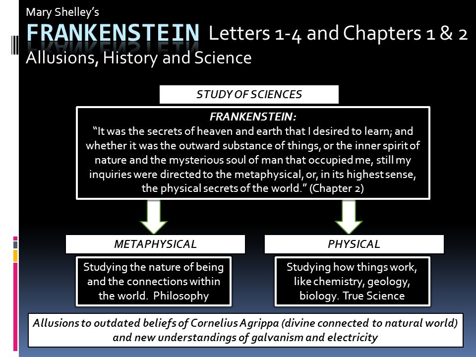 an analysis of the knowledge and its effects in frankenstein by mary shelley Thomas dutoit in his deconstructive analysis of frankenstein has  mary shelley's frankenstein is at its most  of modern scientific knowledge and.