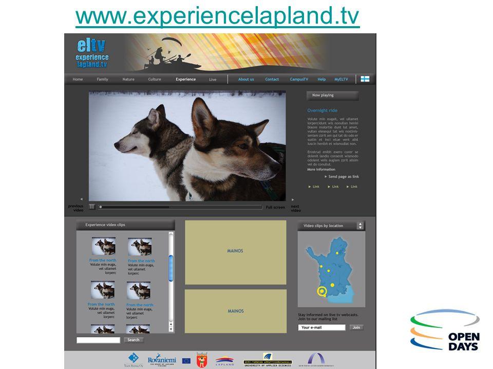 www.experiencelapland.tv