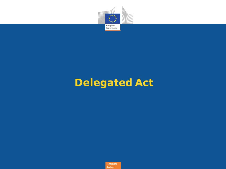 Delegated Act