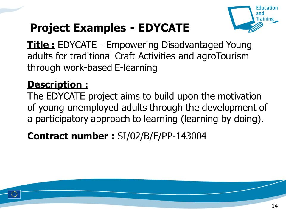 Project Examples - EDYCATE