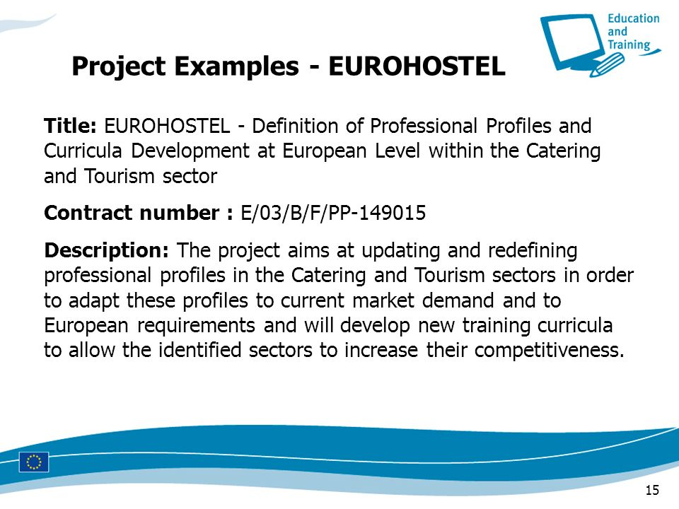 Project Examples - EUROHOSTEL