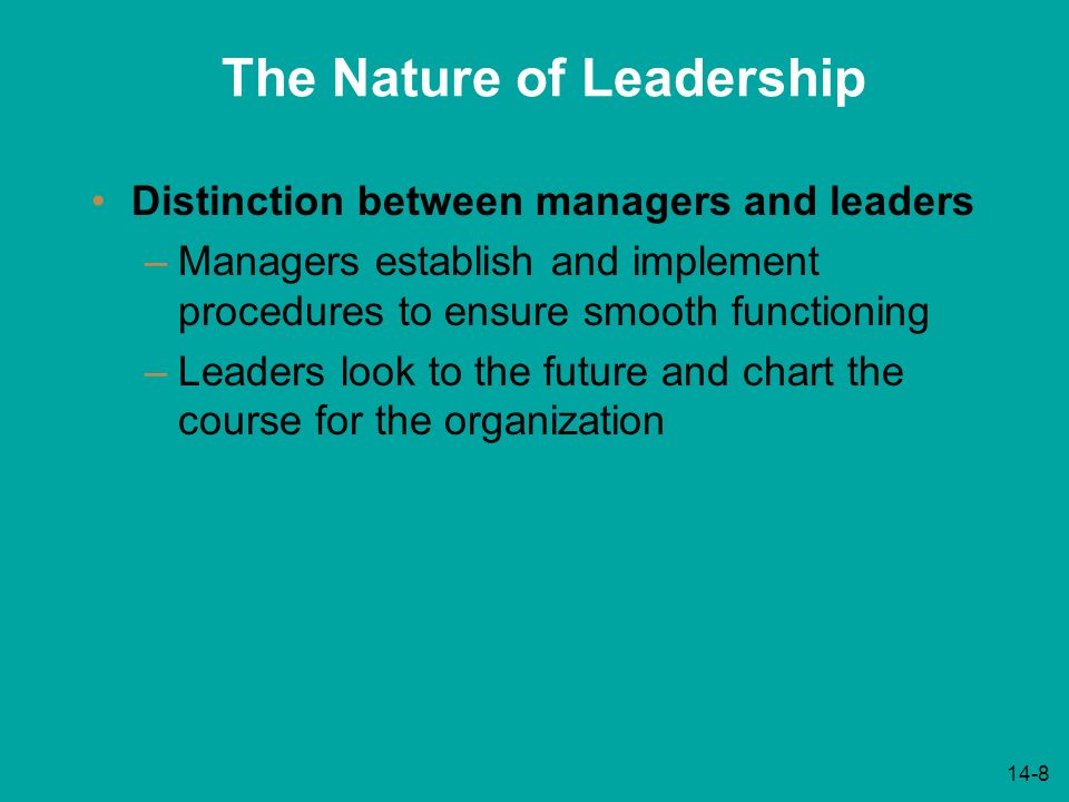 the distinction between leaders and managers This short video from @scottwilliams provides 10 clear distinctives to help understand the difference between a manager and a leader.