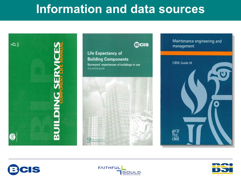 Information and data sources