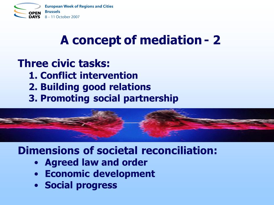 A concept of mediation - 2