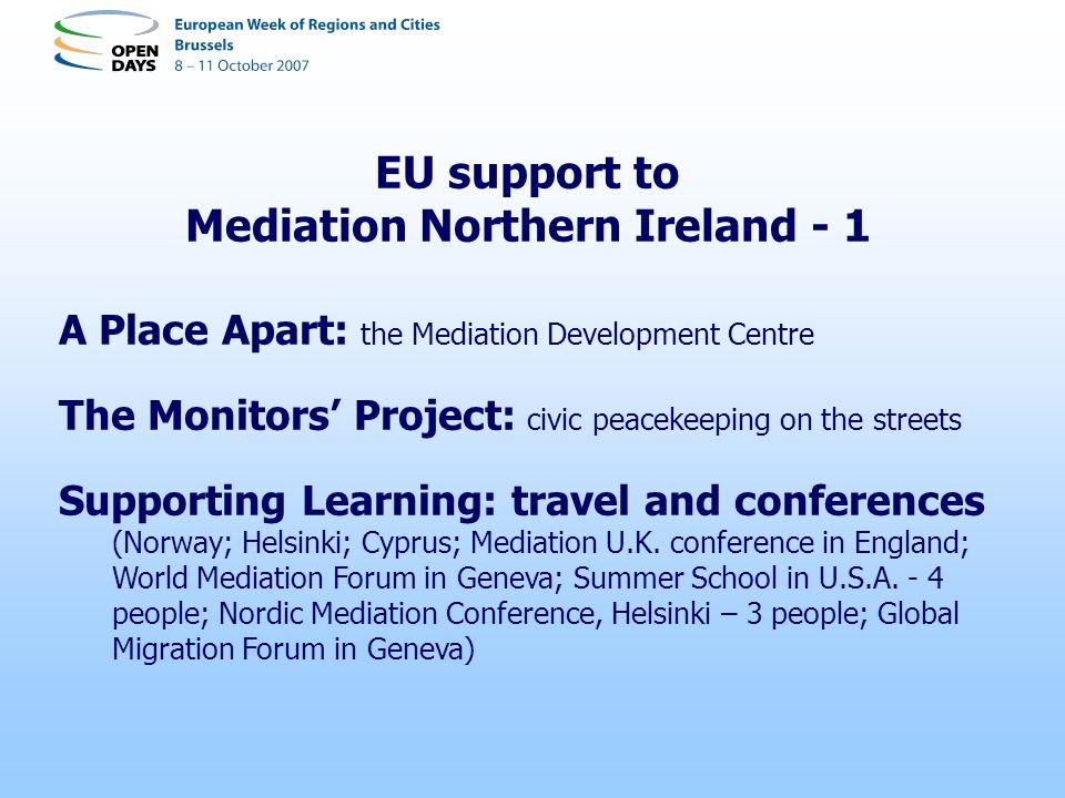 Mediation Northern Ireland - 1