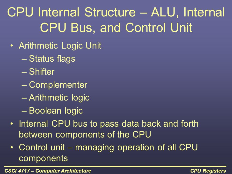 computer structure and logic Devices that enable a computer to connect to other components  it consists of  the control unit, arithmetic/logic unit and the controller it is the.
