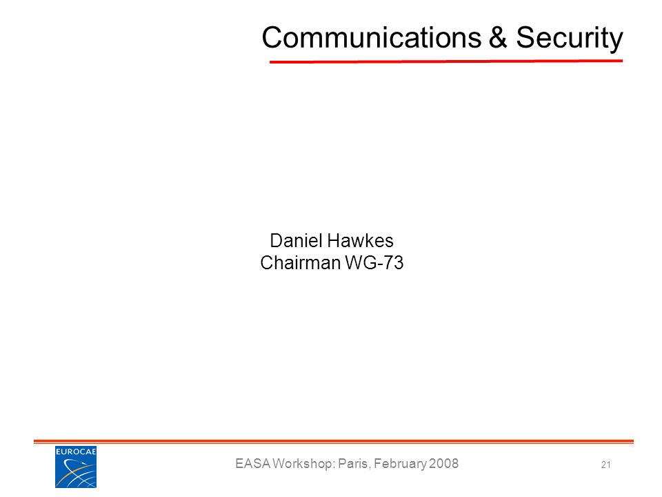 Communications & Security