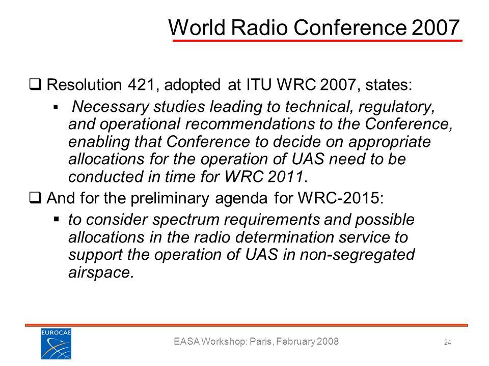 World Radio Conference 2007