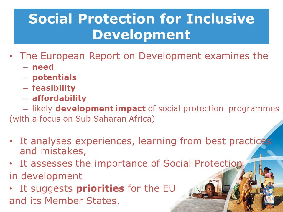 Social Protection for Inclusive Development
